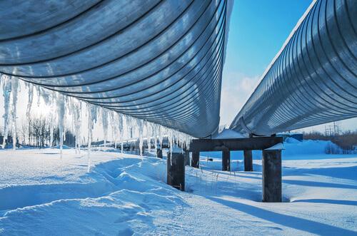 isolation en service froid (température entre ambiance et - 40°c