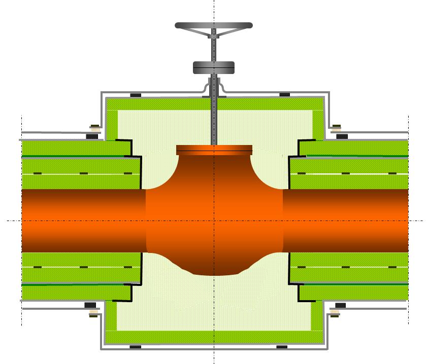 calorifuge vanne