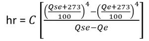 Coefficient de rayonnement